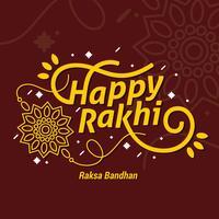 Glad Rakhi vektor