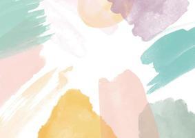 abstrakt bakgrund med en handmålad akvarelldesign vektor
