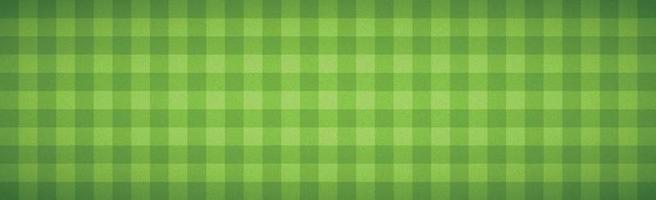 realistischer karierter Fußballhintergrund, der Gras - Vektor bedeckt