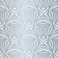 nahtloses Muster aus floraler Spitze. gedeihen stilvolle Fliesen Ornament Palmblatt fraktalen Hintergrund. abstrakte geometrische gedeihen Retro-Textur. vektor