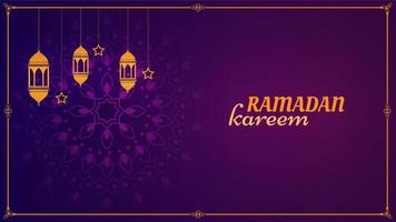 heiliger Monat Hintergrund im Monat Ramadan vektor