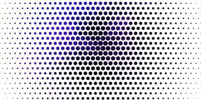 hellrosa, blauer Vektorhintergrund mit Punkten. vektor