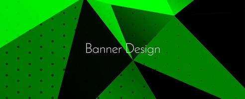 modern elegant abstrakt geometrisk elegant banner bakgrund vektor