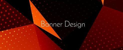 abstrakte geometrische moderne dekorative Design Banner Muster Hintergrund vektor