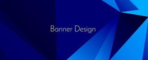 moderner stilvoller abstrakter geometrischer eleganter Fahnenmusterhintergrund vektor
