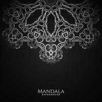 vacker mandala design dekorativ lyx bakgrund vektor