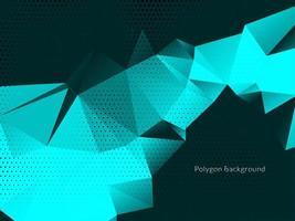 moderner geometrischer Dreieckspolygonhintergrund vektor