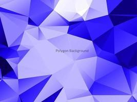 abstrakter Hintergrund des dekorativen geometrischen Dreieckspolygons vektor