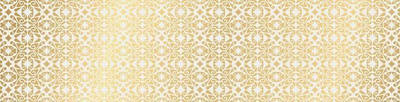 Luxus Ornament Muster Design Hintergrund vektor