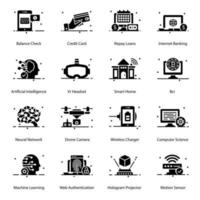 Mobil und Technologie vektor