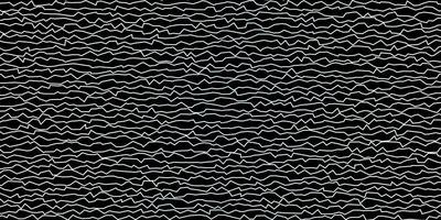 dunkelblaue Vektortextur mit Kurven. vektor