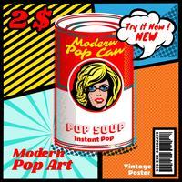 Moderne Pop Art vektor