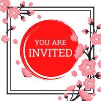 Japanische Einladung