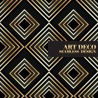 goldener Farbverlauf gatsby Art-Deco-Hintergrunddesign-Illustrationsvektor vektor