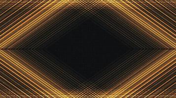 moderner goldener Technologiehintergrund, digitales und Verbindungskonzeptdesign, Vektorillustration. vektor
