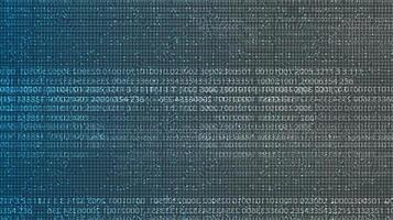 Hintergrund der digitalen Codetechnologie, High-Tech-Konzeptdesign für Digital- und Schallwellen, freier Platz für Text in Put, Vektorillustration. vektor