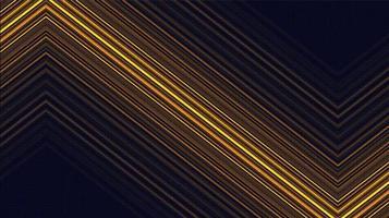 elektronischer goldener Technologiehintergrund, digitales und Verbindungskonzeptdesign, Vektorillustration. vektor