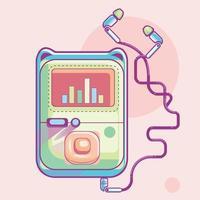 MP3-Player-Symbol vektor