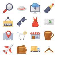 Online-Shopping und Zahlungen vektor