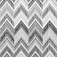 abstraktes geometrisches nahtloses Muster. Stoff Gekritzel Zick-Zack-Linie Ornament. Zick-Zack-Bleistiftzeichnung Hintergrund vektor