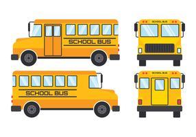 Skolbussvektor vektor