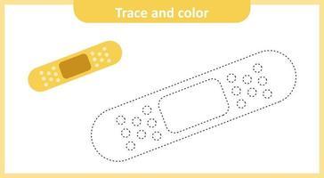 Spuren- und Farbputz vektor