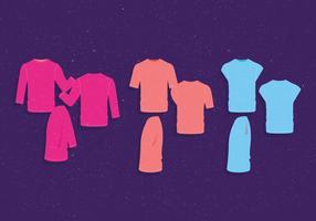 T-Shirt Mann vorbildlicher Vektor