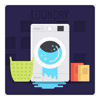 Waschen vektor