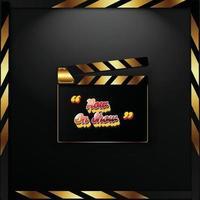 Promo-Kino-Banner vektor