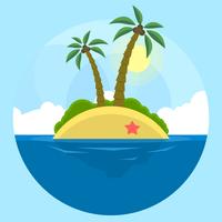 Strand Landschaft vektor