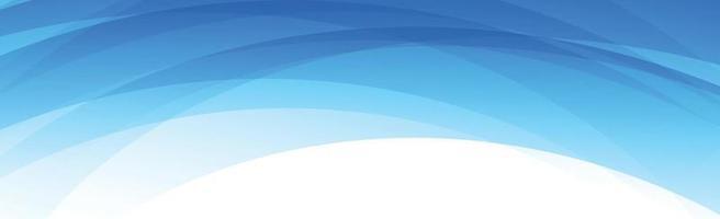 abstrakte blaue Linien auf weißem Hintergrund - Vektor