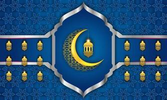 Ramadan Grußkartenillustration, Hintergrund, Flyer, Illustration, Broschüre und Verkaufshintergrund vektor