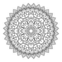 Dekorativ mandala design