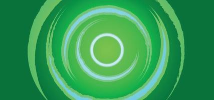 grüner moderner abstrakter Hintergrund oder Fahne vektor