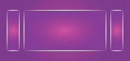 abstrakter glänzender schöner Hintergrund oder Rahmen vektor