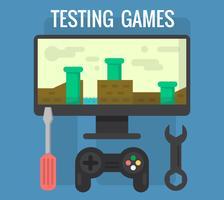 Testa spel vektor