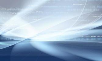 abstraktes graues Hintergrundplakat mit dynamischer. Technologie Datennetzwerk Vektor-Illustration. vektor