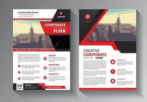 Broschürendesign, modernes Layout abdecken, Vorlage für Jahresbericht vektor