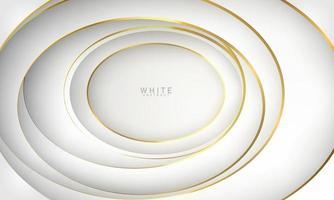 abstraktes weißes Hintergrundplakat mit dynamischer. Technologie Netzwerk Vektor-Illustration. vektor