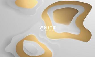 abstraktes Pastellgoldgradientenhintergrundökologiekonzept für Ihr Grafikdesign, vektor
