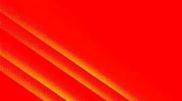 rött och orange kretsmikrochip på teknikbakgrund, högteknologisk digital och anslutningskonceptdesign, ledigt utrymme för text i put, vektorillustration. vektor