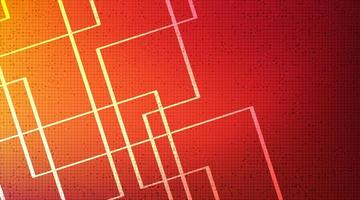 digital linje på teknikbakgrund, högteknologisk digital och säkerhetskonceptdesign, ledigt utrymme för text i put, vektorillustration. vektor