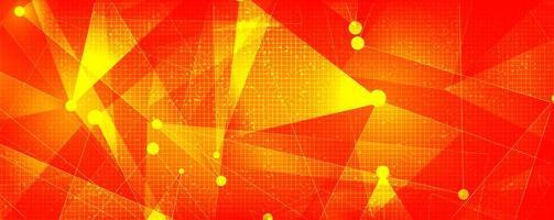 orange futuristisk teknikbakgrund, högteknologisk digital och säkerhetskonceptdesign, ledigt utrymme för text i put, vektorillustration. vektor