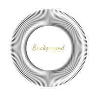 koncentriska cirkelelement. element för grafisk webbdesign, mall för tryck, textil, inslagning, dekoration, vektorillustration vektor