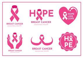 Bröstcancer Vector Pack