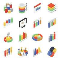 Elemente der Geschäftsanalyse vektor