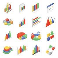 Dateninfografiken Elemente vektor
