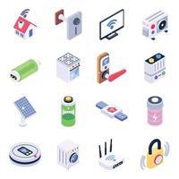 smarta hushållsapparater vektor