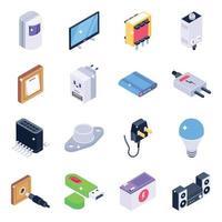 Elektronik und Technologie i vektor