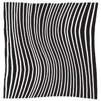 handritad abstrakt mönster med handritade linjer, streck vektor